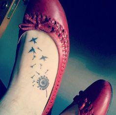 38 Dandelion Tattoos