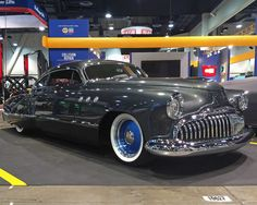 Mike Young's Chris Carlson Hot Rods built custom 1949 Buick Super 56S Sedanette epitomizes the essence of a SEMA Show custom car build