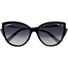 La Perla Sunglasses Black Marble Effect Cateye Sunglasses (7.575 ARS) ❤ liked on Polyvore featuring accessories, eyewear, sunglasses, glasses, black, metallic glasses, cat-eye glasses, cat eye sunnies, tinted sunglasses and marble sunglasses