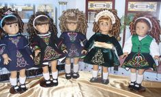 A Doll's Life - by Jennifer   Due to the high demand of our Irish Dance Doll Dresses, we have created this page. Since our first Irish Feis, we have received many orders for custom made dresses for Irish Dancers throughout the United States. On this page you will find pictures of Irish Dance Dresses that we have made, including solo dresses, school dresses, beginner dresses and more.