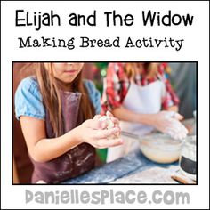 Sunday School Crafts for Elijah and the Widow here Sunday School Kids, Sunday School Activities, Sunday School Lessons, Sunday School Crafts, Preschool Activities, Preschool Classroom, Elijah Bible, Elijah And The Widow, Family Bible Study