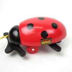 Brio Ladybug pull toy