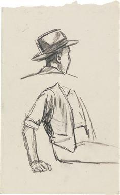 Edward Hopper, croquis