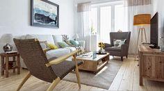 Decorar un piso estilo rustico-natural   Decorar tu casa es facilisimo.com
