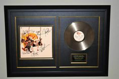 ROCK STAR gallery  Chicago - Greatest Hits  Hand Signed!  http://www.rockstargallery.net/chicago-greatest-hits-albchicago187d  #chicago