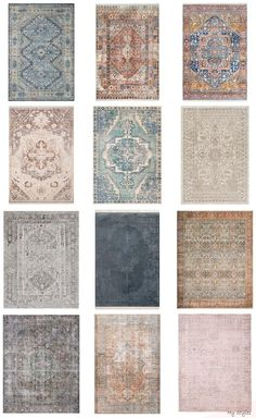 Find tips for shopping affordable vintage-style rugs. Beautiful modern traditional bedroom with vintage style rug. Look Vintage, Vintage Rugs, Modern Traditional, Traditional Bedroom, Traditional Homes, Traditional Kitchens, Affordable Rugs, Patchwork Rugs, Cool Rugs