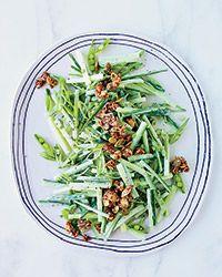 Cucumber-Sugar Snap Salad