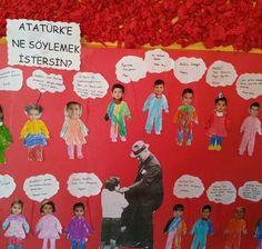 Atatürk'e ne söylemek istersin ?