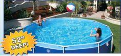 Swiming Pools Sandbar Tile 48 Inch Beaded Pool Liner With
