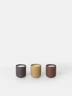 Sekki Scented Soy Candles (set of 3) 1