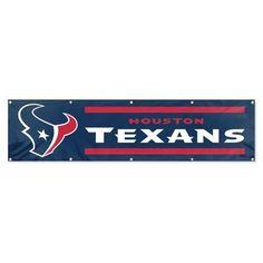 Houston Texans 8 Ft Tailgate Banner Flag