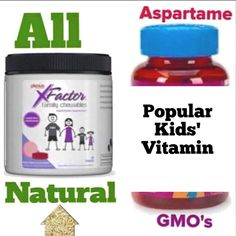 Why, do some kid's vitamins put Aspartame, artificial dyes/colors, and GMOs in them?? Love that Plexus' chewable vitamin does NOT! Plus, it contains New Zealand Black Currant which has the highest levels of antioxidants to boost immune systems! Helps them sleep better, Feel better during the day!