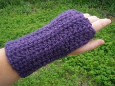 Ribbed Wrist Warmers  Fingerless Gloves  by TheChickOfAllTrades, $18.00