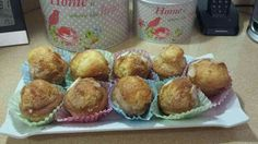 Madalenas Muffin, Breakfast, Food, Sweets, Morning Coffee, Eten, Cupcakes, Muffins, Meals