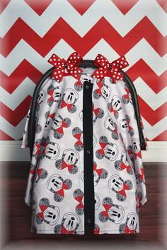 Mickey Mouse Carseat Canopy Car Seat Cover Minnie Red