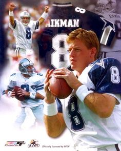 """Only time I EVER won anything from a radio station, answering the question """"which Dallas Cowboy's player is singing this song?""""  I knew, Troy Aikman and I was right. Whoo Hooo"""