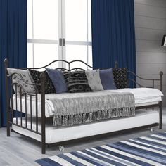 DHP Tokyo Brushed Bronze Daybed and Trundle - Overstock Shopping - Great Deals on DHP Beds