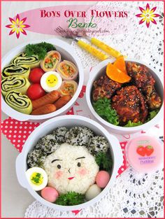 Traditional Korean Lunch Box | Boys Over Flowers Bento