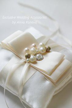 BEST SELLER Ivory Wedding Ring Pillow Bearer Ring Pillow Lace Wedding  Ring Pillow Wedding Ring holder ring bearer pillow wedding.  His lovely wedding ring pillow is entire... #trending #trend #weddingideas #happytime #winter
