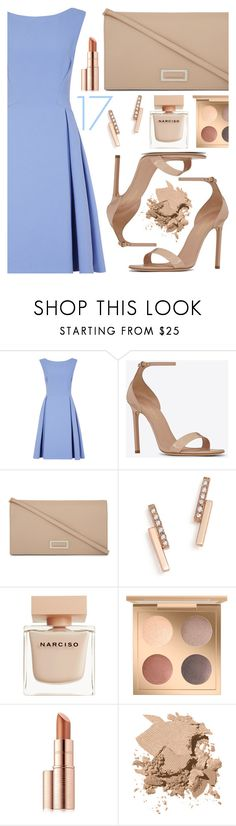 """""""Congrats, Amanda: Graduation Day Style"""" by sharmarie ❤ liked on Polyvore featuring Yves Saint Laurent, MaxMara, ZoÃ« Chicco, Narciso Rodriguez, Estée Lauder and Bobbi Brown Cosmetics"""