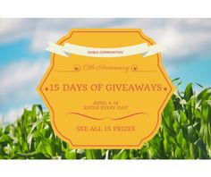 15 Days of Giveaways from Edible Communities via... IFTTT reddit giveaways freebies contests