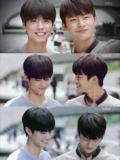 I Remember You / Hello Monster : Seo In-guk as Lee Hyun, Park Bo-gum as Jung Sun-ho / Lee Min