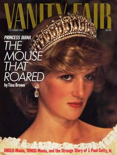 Vanity Fair Magazine Cover