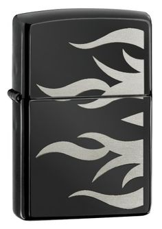 Zippo Ebony Tattoo flame Lighter $17.95