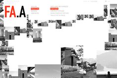 FA.A Architects — Website on Behance