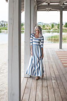 Summer Cotton Maxi Dress