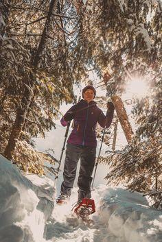 Parc national du Mont-Tremblant - Secteur de la Pimbina, Saint-Donat Parc National, Snow, Garden, Nature, Outdoor, Travel, Pathways, Tourism, Chocolates