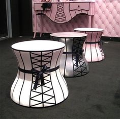 cthomass side tables-puffs