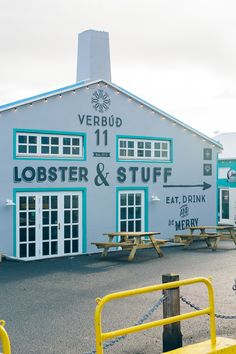 Reykjavik harbor, restaurant in Reykjavik, Iceland, Iceland travel guide —via @TheFoxandShe