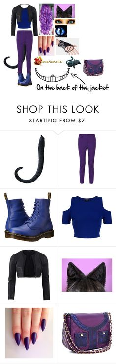"""""""Jinx-Shire's Outfit #1"""" by animegirl694 ❤ liked on Polyvore featuring M Missoni, Dr. Martens, New Look, Narciso Rodriguez, WALL and Dasein"""