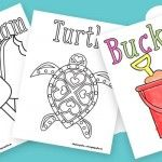Ocean and Sea Animals Coloring Pages {Free Printable} - Easy Peasy and Fun
