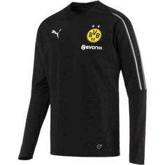 a80dbe736e89 Buy this 2018 19 Puma Borussia Dortmund Training Sweat Top right now from  www.