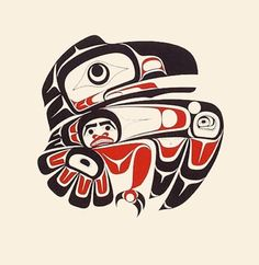 Haida tattoo on pinterest for Native american tattoo artist seattle