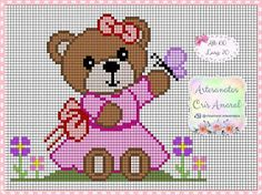 1 million+ Stunning Free Images to Use Anywhere Elephant Cross Stitch, Butterfly Cross Stitch, Cross Stitch Baby, Cross Stitch Charts, Cross Stitch Patterns, Graph Paper Drawings, Baby Teddy Bear, Fabric Hearts, Graph Design