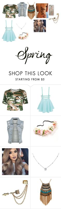 """spring"" by queefashion on Polyvore featuring beauty, Ice, Emi Jewellery, Leslie Danzis and Casetify"