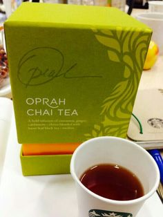 Oprah chai tea from Teavanna, want want want! Tried this with a friend at Starbucks and loved it :)