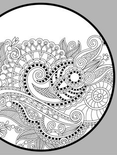 complicated coloring pages for adults free to print http ... - Complicated Coloring Pages