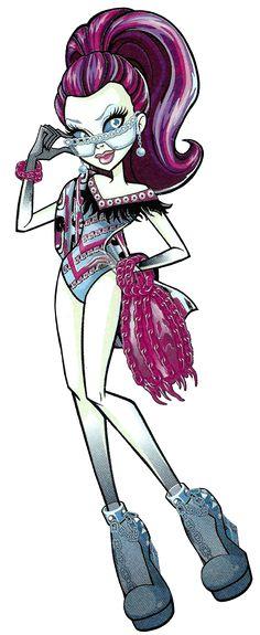 All about Monster High: Spectra Vondergeist