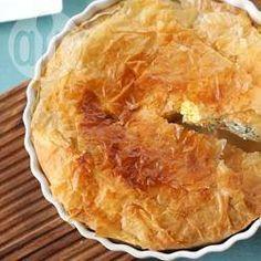 Torta Pasqualina (tourte aux épinards et à la ricotta)