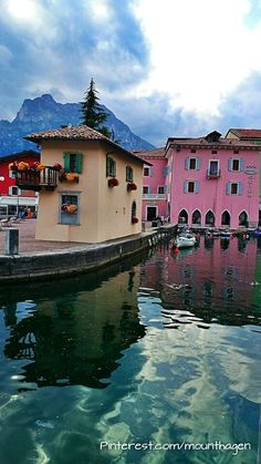 Torbole sul Garda at Lake Garda in Italy