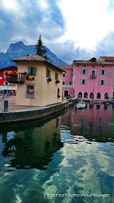 Torbole sul Garda at Lake Garda in Italy