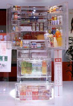Transparent Refrigerator.......COOL!!!