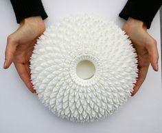 CHRYSANTHEMUM CENTREPIECE - a 3D printed object by Dr. Michaella Janse van Vuuren of Nomili.