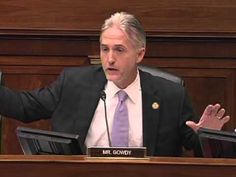 Rep. Gowdy 'fascinated' by the Ever-Changing Defense in the IRS Scandal
