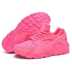Outlet HT8UI Womens Nike Air Huarache Sneakers Pink 634835 029 ❤ liked on Polyvore featuring shoes, sneakers, nike footwear, pink shoes, nike trainers, nike and nike sneakers