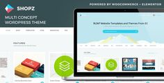 Shopz - eCommerce WordPress Theme FEATURES      Elementor And Elementor PRO (Sold Separately)     WooCommerce plugin compatible     Translation Ready (.po/.mo file is available)     Multilingual/WPML Ready     Post Formats Support         Standard         Aside         Audio         Image         Gallery         Link         Quote         Status         Video     Theme Customizer Ready     Child Theme Ready     Custom Background     ... and all standard WordPress features …